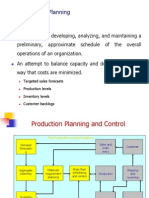 Aggregate Planning OPC