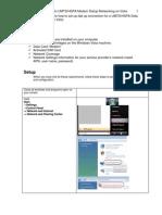 UMTS - Creating Vista DUN Connection