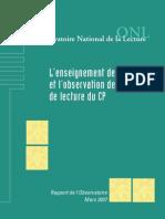 Rapport ONL - 2007