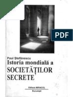 8248661 Paul Stefanescu Istoria Mondiala a Societatilor Secrete