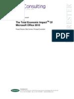 TEI Microsoft Office 2010