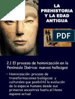 Tema 2 Prehistoria y pueblos prerromanos en la Península Ibérica