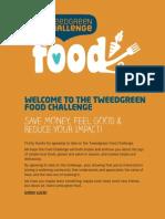Tweedgreen Challenge - Food