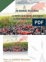 Le programme du PJD, nouveau parti au pouvoir au Maroc