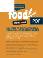 Tweed Green Challenge - Food - Recipes
