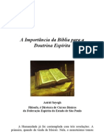 A Importância da Bíblia para a Doutrina Espírita (1)
