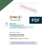 Moderation Script (11/2011)
