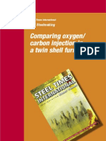 Metals Comparing Oxygen Carbon Injection Twin Shell Furnace