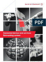 Bain Connected Devices and Services 2011 US