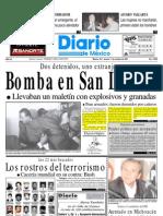 Bomba en San Lazar Detenidos Dos Judios