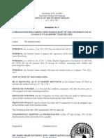 Resolution No. 5