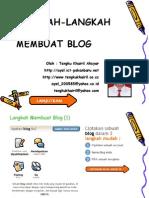 Langkah Membuat Blogger