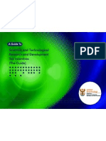 (Africa Do Sul) Guide to R&D Tax Incentives