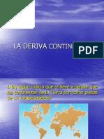 deriva continenetal