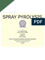 Spray Pyrolysis