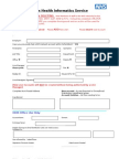 OHIS Account Form
