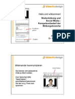 """""""Weiterbildung und Social Media"""" Webinar-Vortrag von Dr. Katja Bett"""