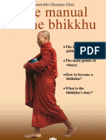 The Manual of the Bhikkhu