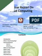 Cloud Computing Ghalib Seminar