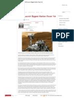 NASA Launch Biggest Martian Rover Yet