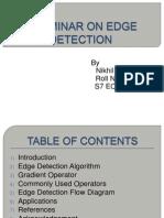 Edge Detection Seminar