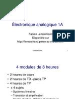 Electronique - Module 1