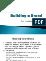 Building a Brand2