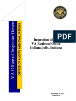 VAOIG Indianapolis RO Inspection