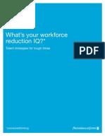PWC Workforce Reduction