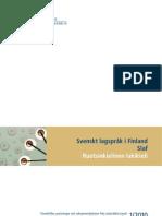 Svenskt Lagsprak i Finland 2010