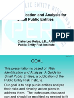 Risk Identification and Analysis 62006