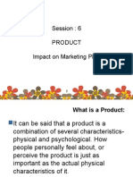 Impact of Product Decisions on Marketing Mix