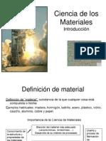 Presentación de clases. Introducción a la  Ciencia_de_los_materiales