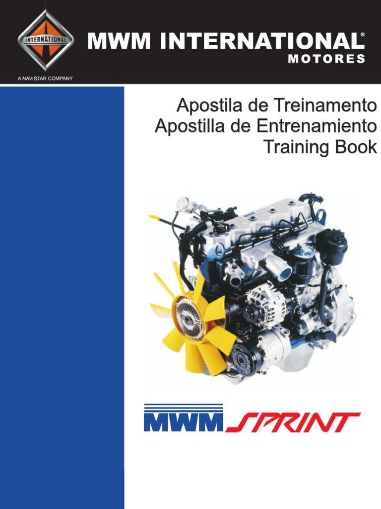 manual de servi o motor mwm sprint eletronico rh es scribd com  mwm sprint 6.07 tca manual