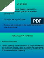hematologia forense