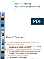 Lecture 9' - Introduction to Modeling Structural Transitions