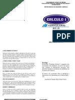 Formulario Calculo I-2010