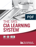 The IIA's CIA Learning System Sampler