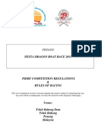 PIDBF Comp Regulations & Rules of Racing