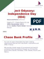 CIO 100 2011-Project Odyssey