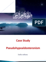 pseduhypoaldosteronism