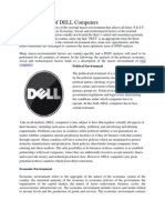 PEST Analysis of DELL Computers