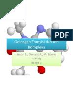 Golongan Transisi Dan Ion Kompleks
