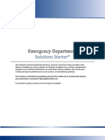 Solutions Starter Emergency Department