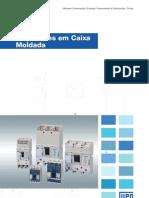 WEG Disjuntores Em Caixa Moldada Dw 50009825 Catalogo Portugues Br