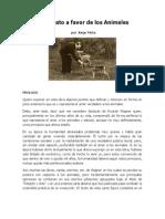 Jorge Mota - Manifiesto a Favor de Los Animales