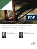 OTC Derivatives in the Post-Dodd-Frank Landscape, Citi July11