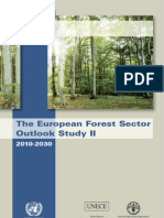 European Forest Sector Outlook Study