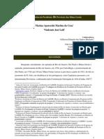 Os Relatórios do Presidente da Província das Minas Gerais