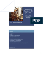 Accounting Standard - 26 Intangible Assets